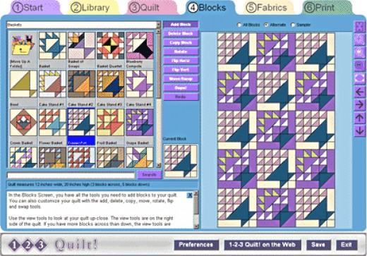 Quilting Software Program