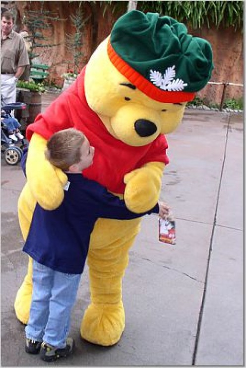 Kids can give you a reason to go to Disneyland (and hug Pooh Bear)