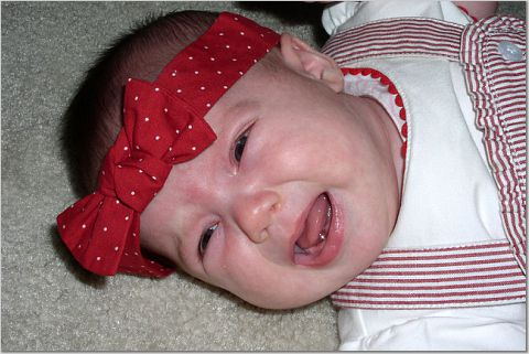 Babies cry - sometimes a lot!