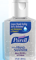 Purell An Alcohol based hand sanitizer.
