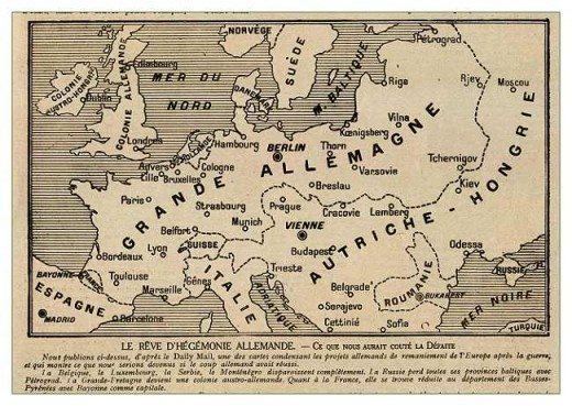 Belgium: A Tributary State in the West -- Poland: 'Fontier Strip' and Protectorate -- Lithuania-Courland: the 'New Germany' in the North-East -- France: A Separate Peace with France, or Not