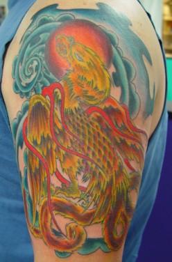 Tattoo by Chuck Kail  TattooAlley.com