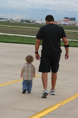 Sometimes kids get angry and walk away. Let them-but walk beside them.