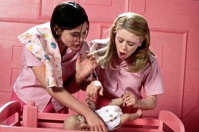 Graham (Clea Duvall) left, Megan (Natasha Lyonne) right.