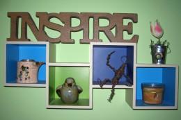 Inspiring wall art.