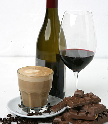 Avoid Red Wine and Caffeine.