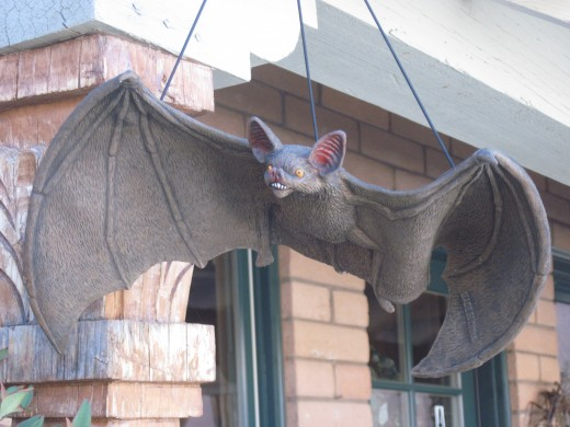 Giant Halloween Bat