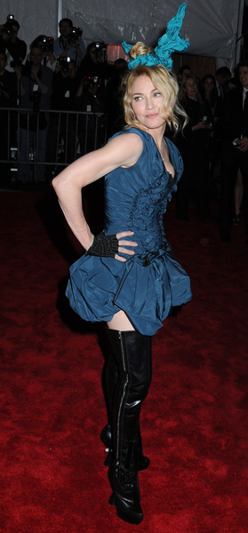 Madonna at the 2009 Costume Institute Gala