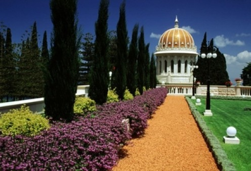 The Shrine of the Bab in Haifa, Israel, where the Bab is buried is an important Baha'i pilgrimage.
