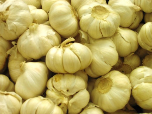 Fresh garlic makes a great addition to your cheater's chicken soup.