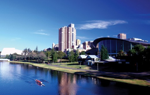 Beautiful Adelaide on the Torens River