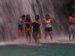 the raft at the falls