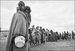 ....famines....