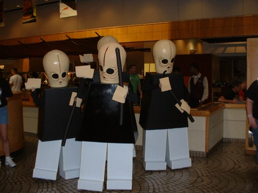 Lego Star Wars Costumes - Cantina Scene