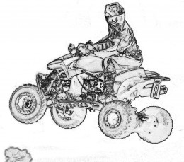Motorcycle Coloring on Free Motorcycle Coloring Pages