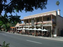 Streets lined with cafes in Hahndorf 30mins drive from Adelaide