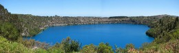 The Blue Lake situated in Mount Gambier South Australia.