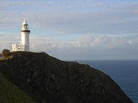 The Byron Bay Lighthouse.