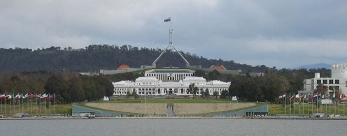 Parliament Houses the Old and the New