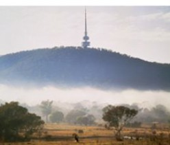 Black Mountain overlooking Canberra