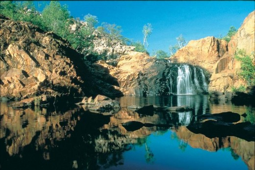 Edith Falls in the Northern Territory