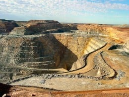 The Super Pit Gold mine in Kalgoolie