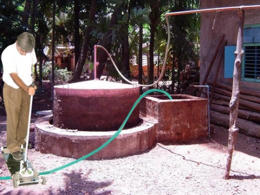 GOBAR GAS PLANT OR BIO GAS PLANT