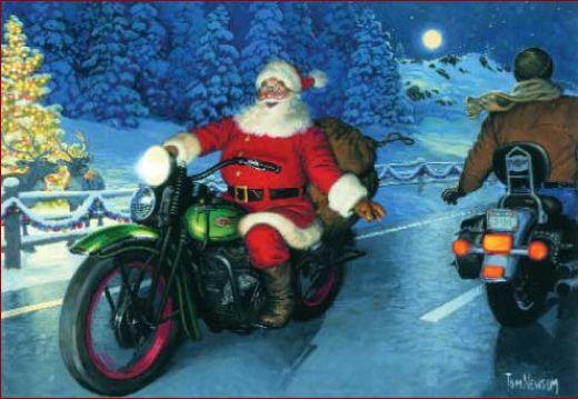 A Biker Christmas
