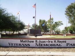 Mathew B Juan - Ira Hayes Memorial Park in Sacaton, Arizona