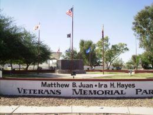Mathew B Juan - Ira Hayes Memorial Park in Sacaton, Arizona
