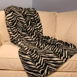 Designer Snuggie - Zebra