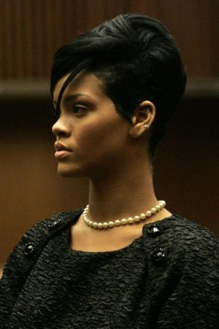 Rihanna in court