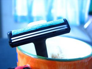 Be careful shaving! Irritating practices such as shaving against the grain can cause ingrown pubic hair.