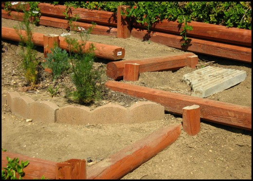 Landscaping Ideas with Landscape Timbers