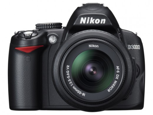 The Nikon D3000