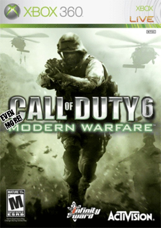 Call of Duty: Modern Warfare 2 - Released November 10th 2009