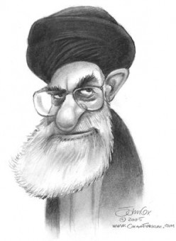 The Supreme Leader Ayatollah Ali Khamenei