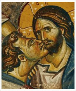 Maybe the kiss means something totally different.  Judas is actually one of the only ones Jesus could trust.