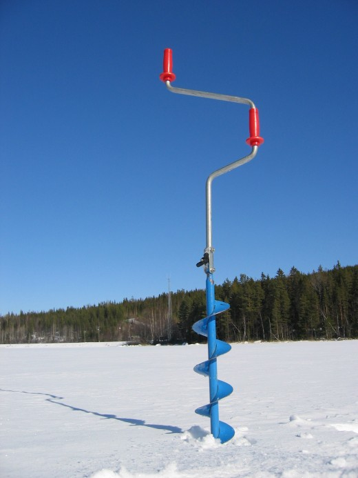 When the ice is safe for Ice fishing tools