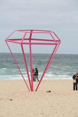 Pink Diamond on Tamarama Beach