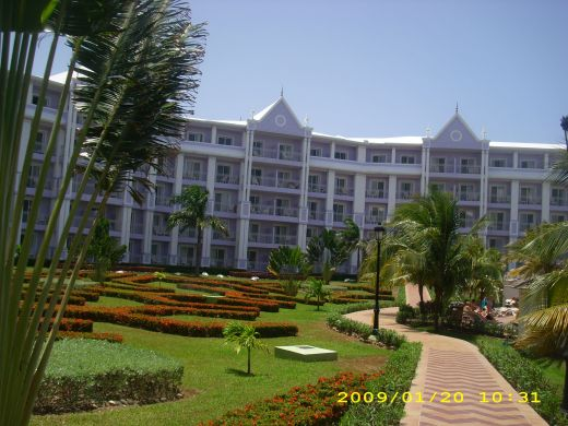 The RIU hotel In Ochos Rios Jamaica