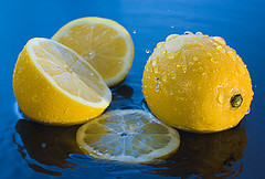 The Juice of Two Lemons.