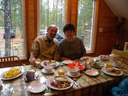 Will and Irma, the outstanding owners/hosts of Lester Beach Bed and Breakfast.