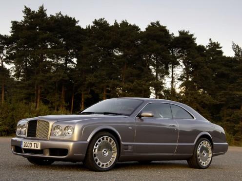 The Bentley Brooklands show