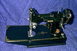 The Singer Featherweight 221