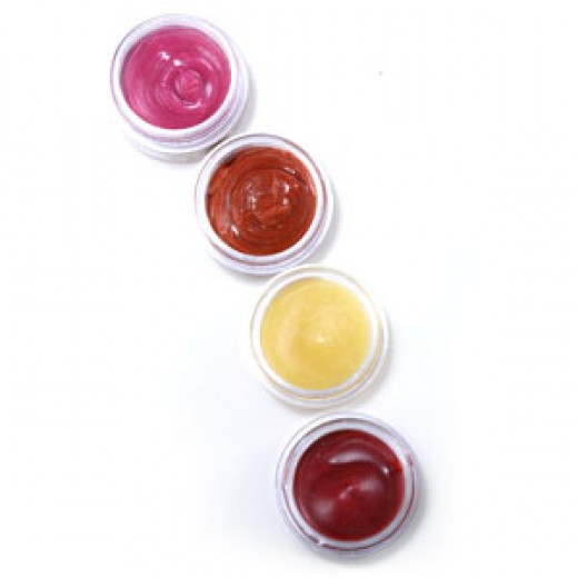 Try adding different color combinations to your lip gloss!