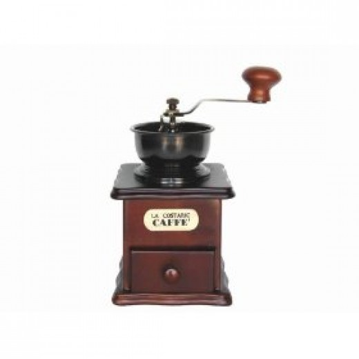 vintage style manual coffee grinder