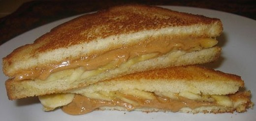Grilled Peanut Butter Sandwiches Are Oh So Delicious And In This Photo ...