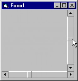Tutorial Visual Basic 6.0 : Control ScrollBar