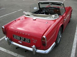Triumph TR4 and TR4A Sports Car